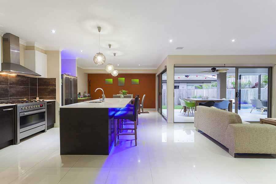 Stylish home interior